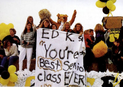1989 homecoming float