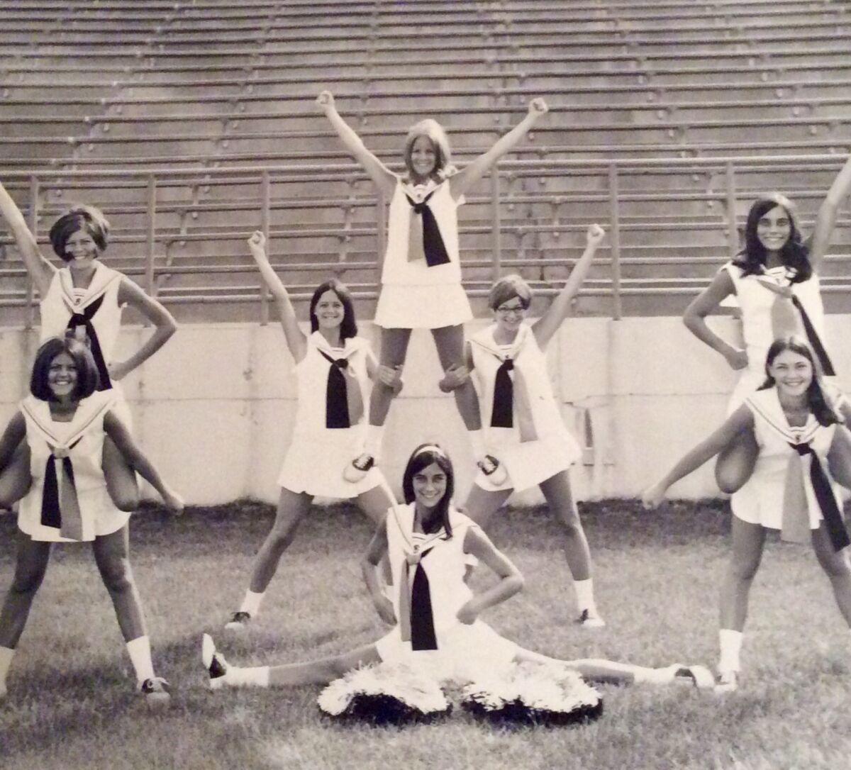 1971 Varsity Cheer Squad
